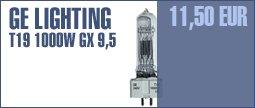 GE Lighting T19 1000 W, GX9,5