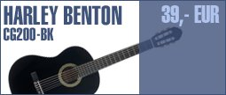 Harley Benton CG200-BK