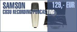 Samson C03U Recording/Podcasting Pack
