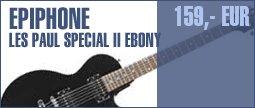 Epiphone Les Paul Special II EB