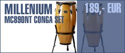 Millenium MC890NT Conga Set