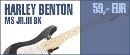 Harley Benton ST-Shorty  BK Standard Series