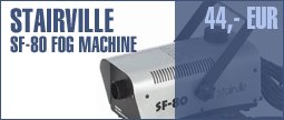 Stairville SF-80 Fog Machine
