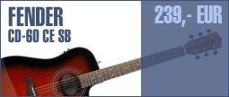 Fender CD-60 CE SB