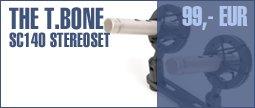 the t.bone SC 140 Stereoset