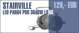 Stairville LED PAR64 Pro 36x3W Long B