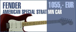 Fender American Special Strat MN CAR