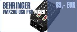 Behringer VMX200 USB Pro Mixer