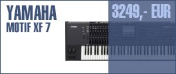 Yamaha Motif XF 7