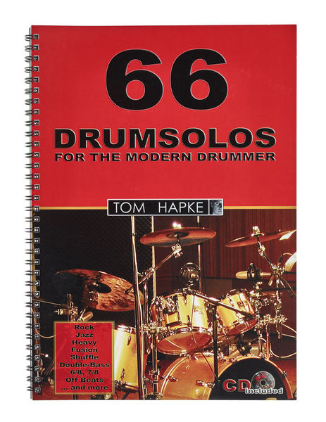 Tom Hapke 66 Drumsolos Bosworth