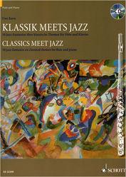 Classics Meet Jazz (Flute) Schott