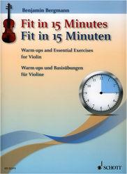 Fit In 15 Minutes Violin Schott