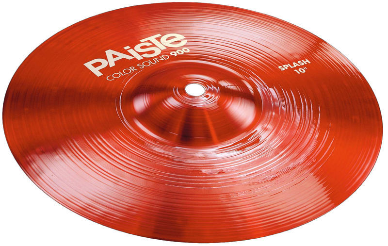 "10"" 900 Color Sound Splash RED Paiste"