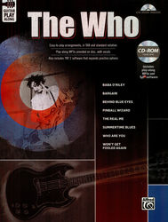 Guitar Play Along: The Who Alfred Music Publishing