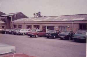 Adam Hall Ltd in den 70er Jahren