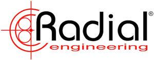 Radial Engineering -yhtiön logo