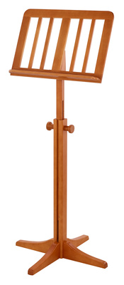 K&M 11617 Wooden MusicStand Cherry