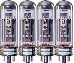 TAD RT154 Röhren EL34L Cz Quartet