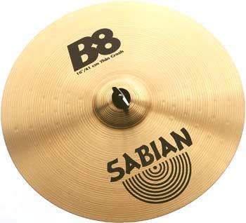 """Sabian 16"""" B8 Thin Crash"""