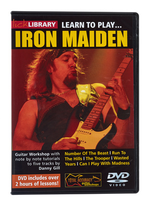 Music Sales Learn to Play Iron Maiden (DVD