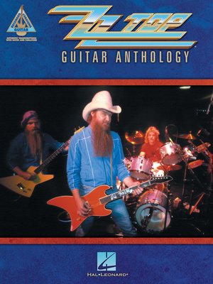 Hal Leonard ZZ Top Guitar Anthology