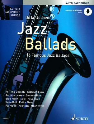 Schott Jazz Ballads für Altsaxophon