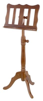 K&M 117 Wooden Music Stand Walnut