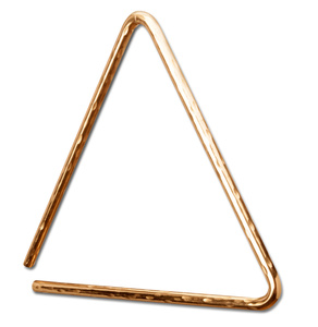 "Sabian 7"" Triangle HH B8 Bronze"