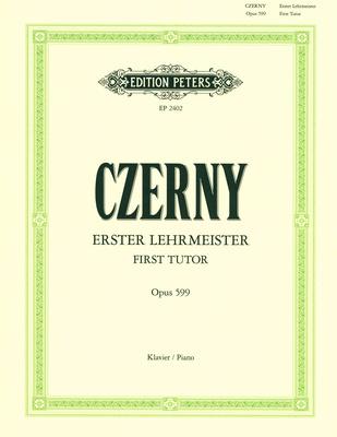 C.F. Peters Czerny Erster Lehrmeister