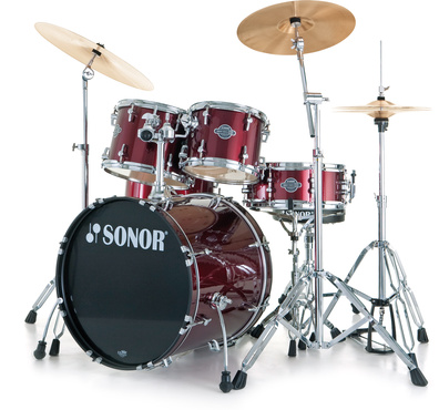 Sonor Smart Xtend Brush Red Stage1