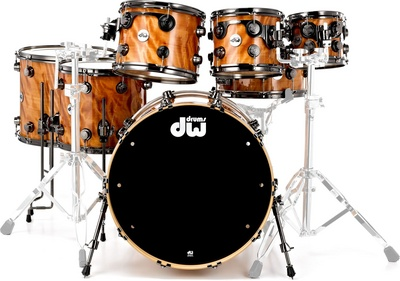 DW Exotic Maple Redwood Curly