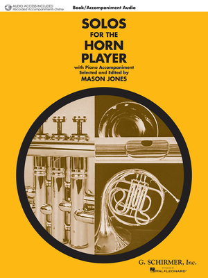 G. Schirmer Solos For The Horn Player