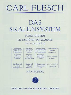 Ries und Erler Musikverlag Flesch Scale System Violin