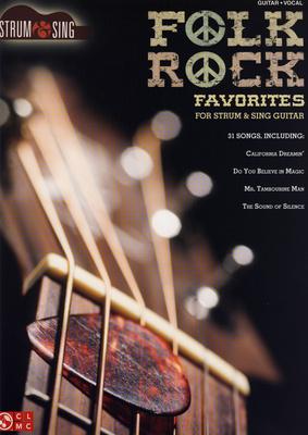 Hal Leonard Folk Rock Favourites: Strum