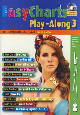Schott Easy Charts 3 Play-Along