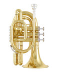 Jupiter 516L Bb Pocket Trumpet Lacquer